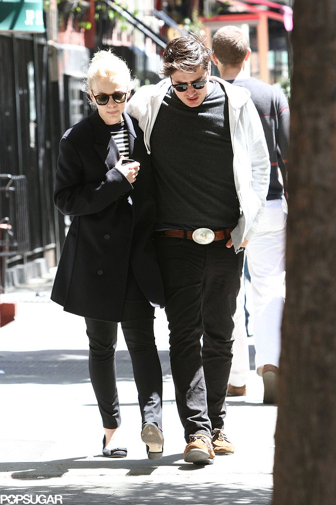 Carey Mulligan and Marcus Mumford spent time in NYC.