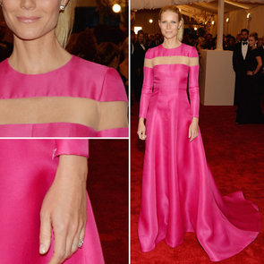 Gwyneth Paltrow in Pink Valentino at 2013 Met Gala