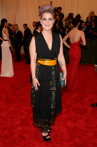 Kelly Osbourne at the Met Gala 2013.