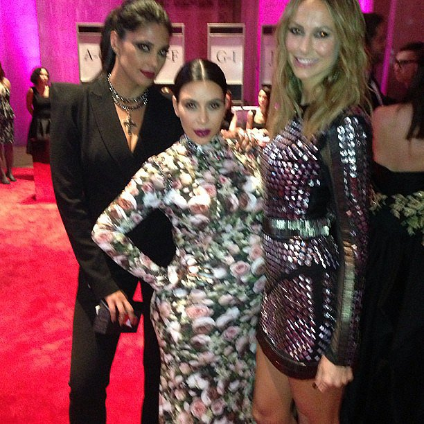 Rachel Roy hung out with her celebrity pals, Kim Kardashian and Stacy Keibler. Source: Instagram user rachel_roy