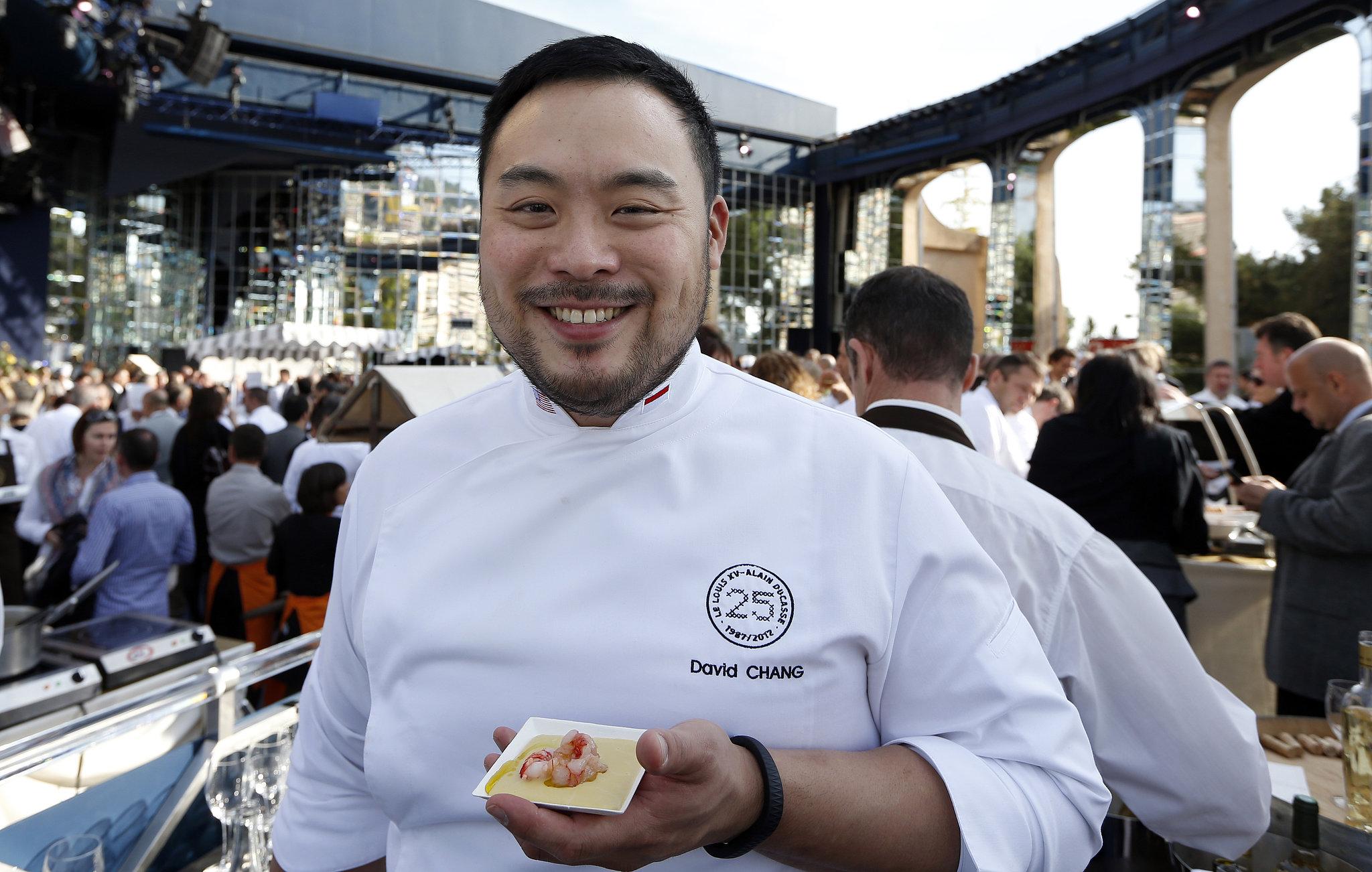 Outstanding Chef (Tie): David Chang, Momofuku Noodle Bar