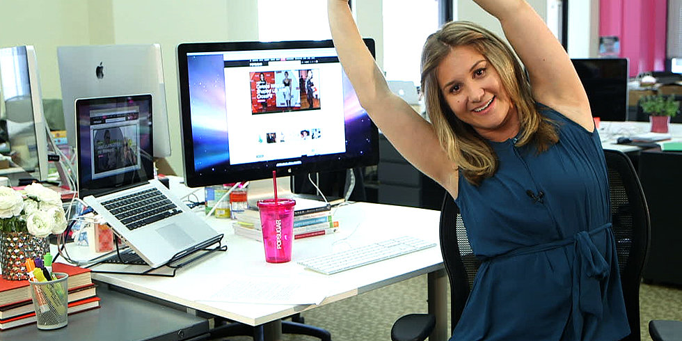 Tied to Your Desk? De-Stress With 3 Seated Stretches