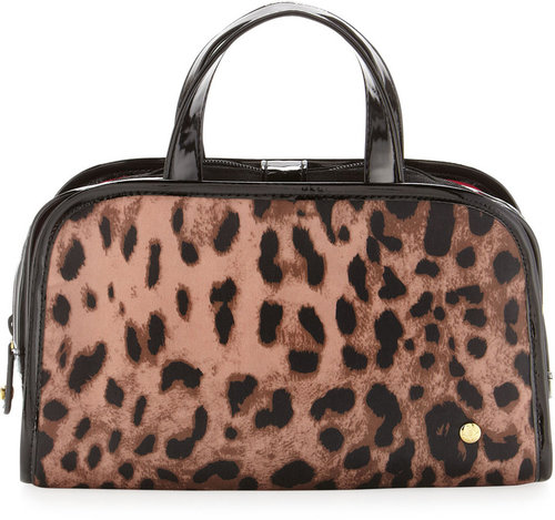 Stephanie Johnson Lucinda Makeup Case, Leopard