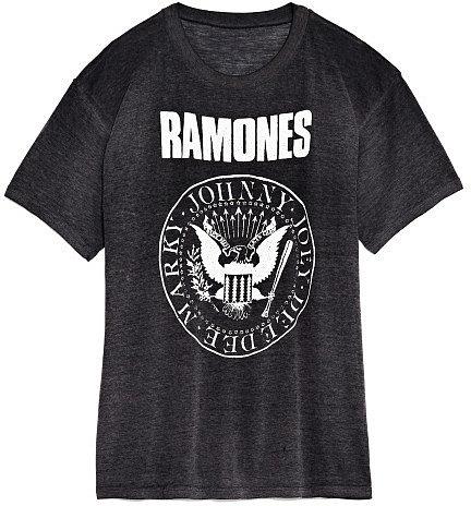 M'O Vintage Faded Black The Ramones Tee