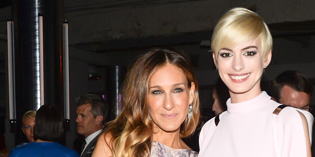 Anne Hathaway Enters the Art World With the Help of SJP