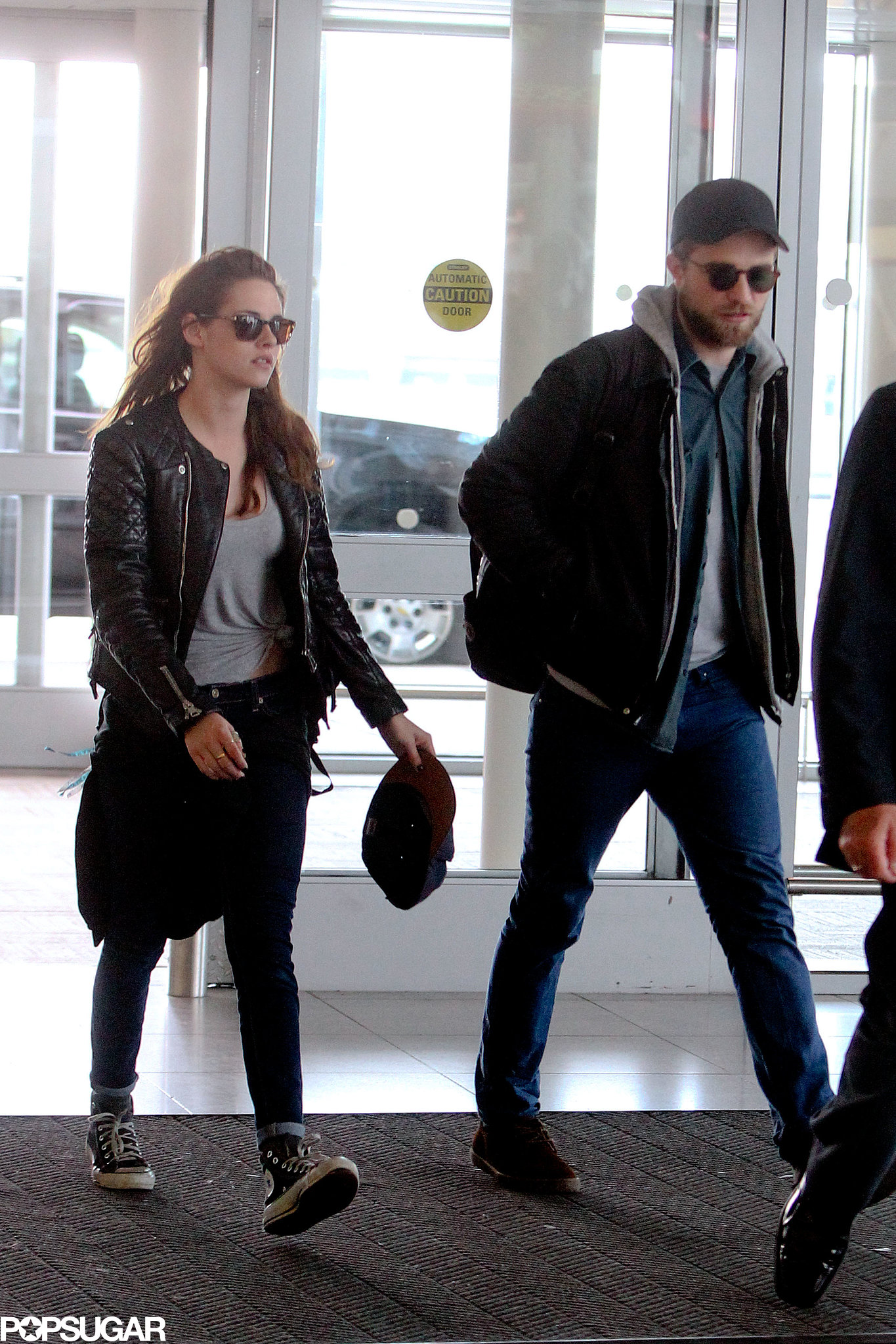 Robert Pattinson and Kristen Stewart arrived at JFK together.