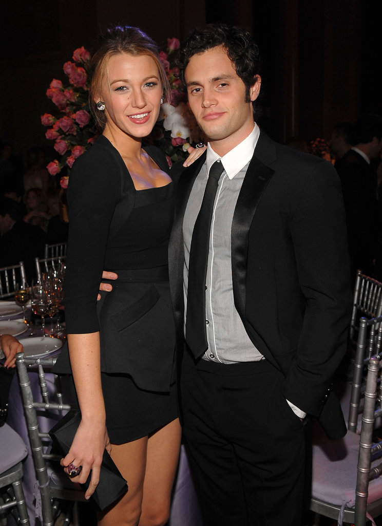 Blake Lively and Penn Badgley