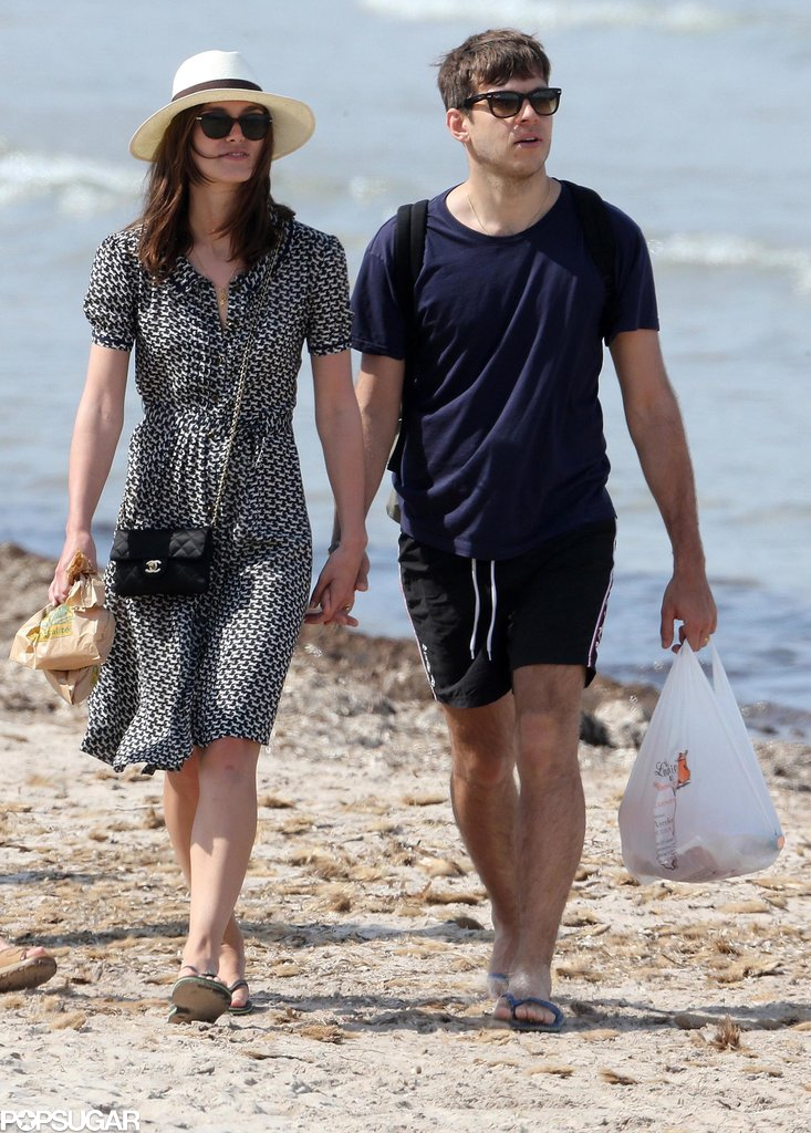 Keira Knightley and James Righton spent their first week together as husband and wife.