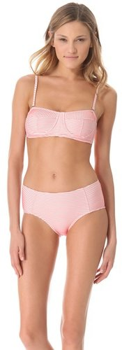 Opening ceremony Larson Stripe Bikini Set