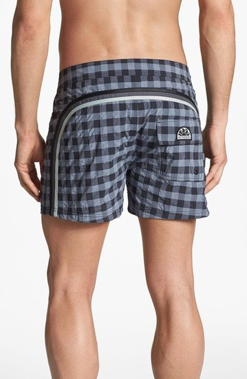 Sundek 'Big Vichy' Board Shorts