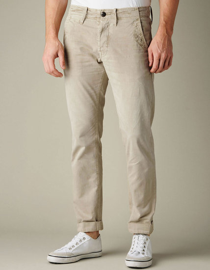 Mens Geno Officer Chino Pant - (Wf Sand Dune)