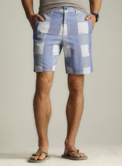 life/after/denim Gulf Plaid Short