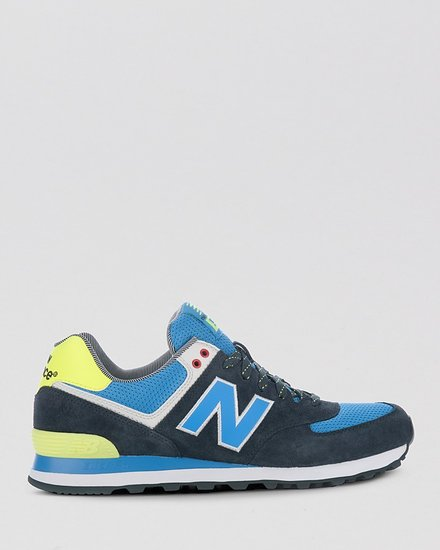 New Balance Yacht Club Color Block Sneakers