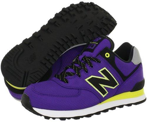 New Balance Classics - WL574 - Windbreaker (Purple) - Footwear