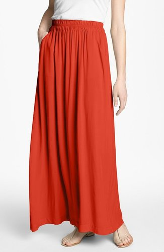 Splendid Voile Maxi Skirt