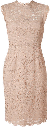 Valentino Nude Lace Dress