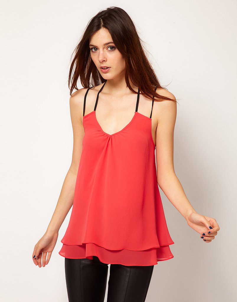 Pair this River Island Swing Cami Top ($42) with a sleek pair of leather leggings for a night of drinking and dancing.