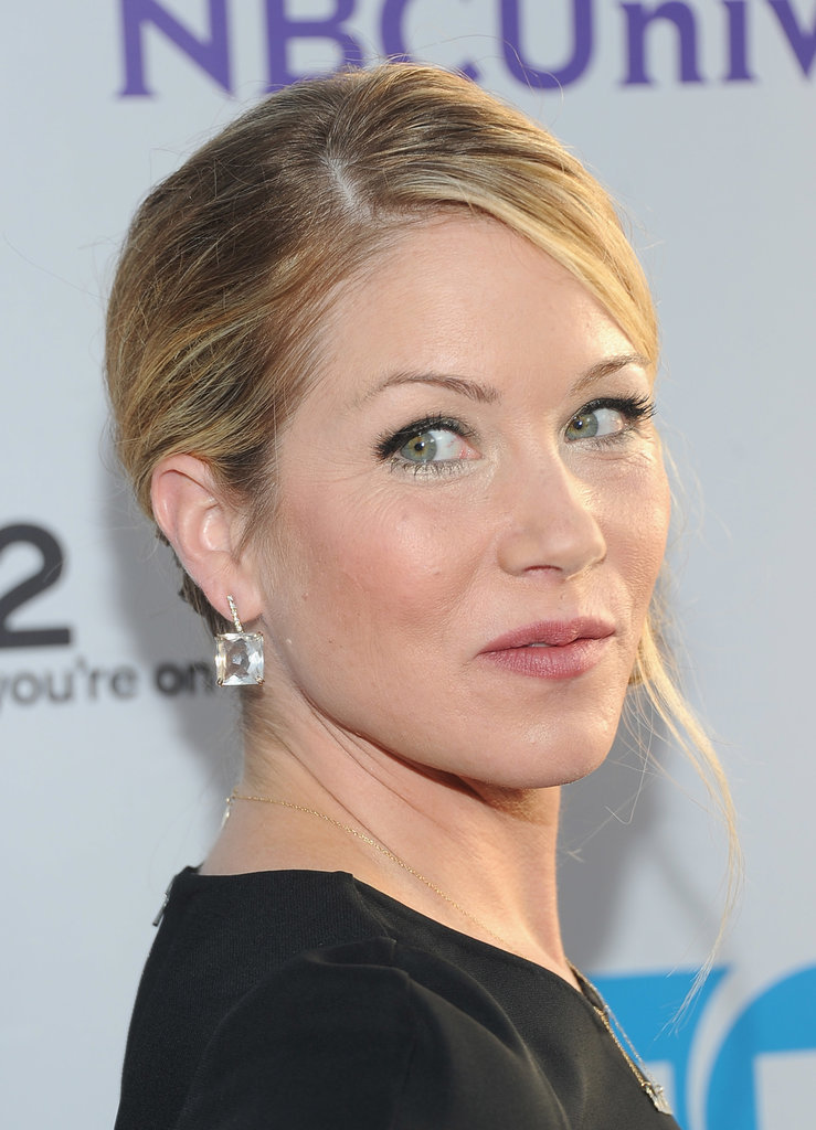 """In 2008, Christina Applegate talked about what it was like to have had a double mastectomy after cancer was detected in one of her breasts: """"Sometimes I cry. Sometimes I scream, and I get really angry and I get really into wallowing in self-pity sometimes, and I think it's all part of healing."""""""