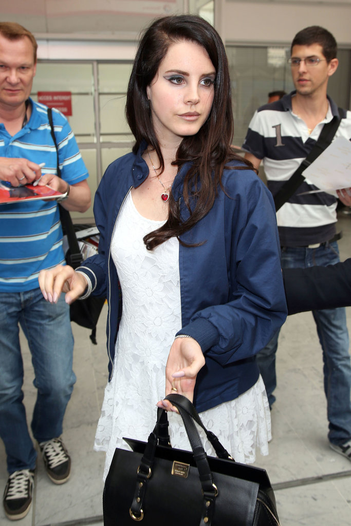 Lana Del Ray arrived for the Cannes Film Festival on Tuesday.