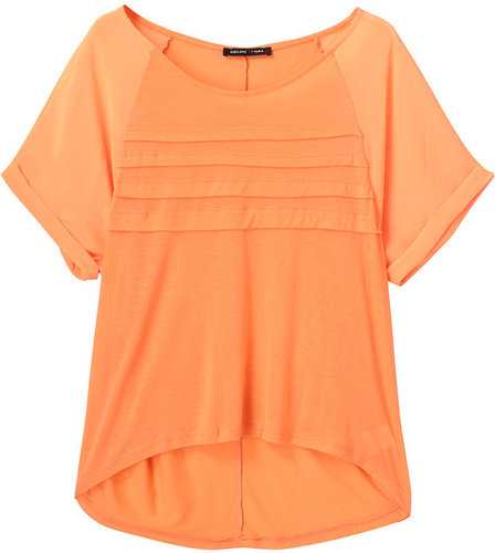 カイラニ 【Kai Lani USA】 Chiffon Pleat Top