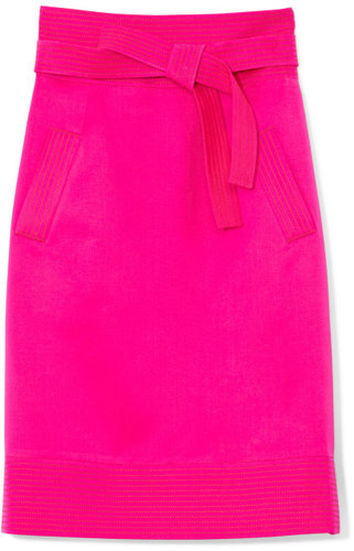 Oscar de la Renta Shocking Pink Skirt