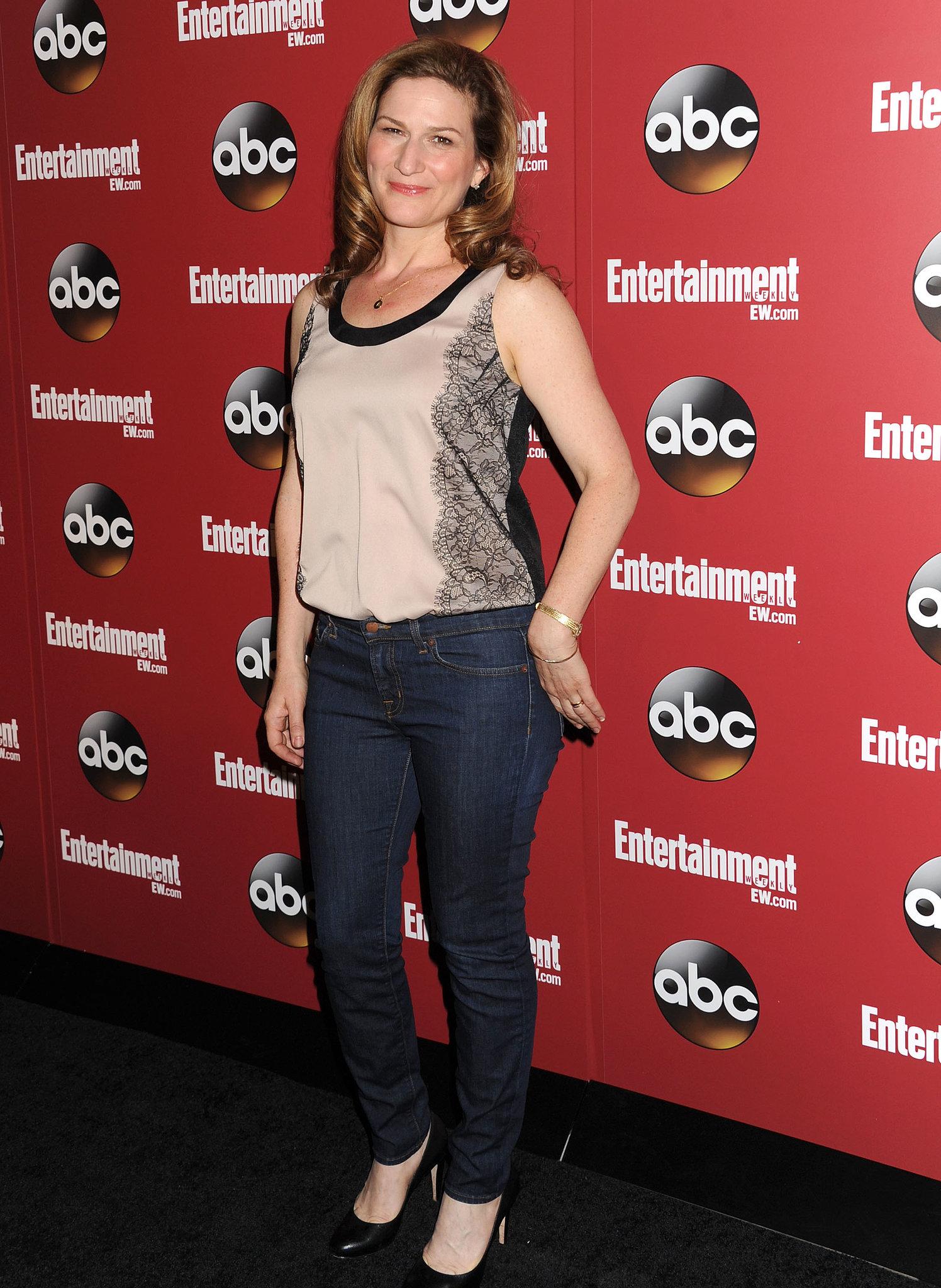 Ana Gasteyer represented her ABC show, Suburgatory.