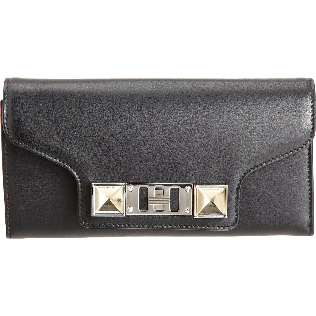 A luxe wallet is a statement piece that early salaries likely won't support. Thrill a young grad with this Proenza Schouler beauty ($685).