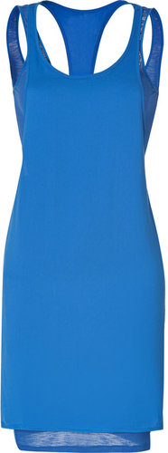 Rag & Bone Blue Racerback Layered Zuzanna Dress