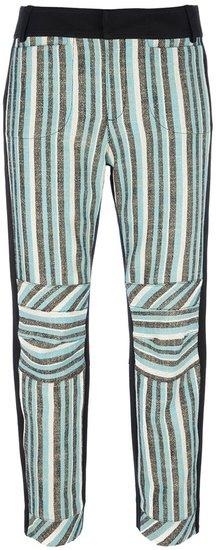 10 Crosby By Derek Lam striped trouser