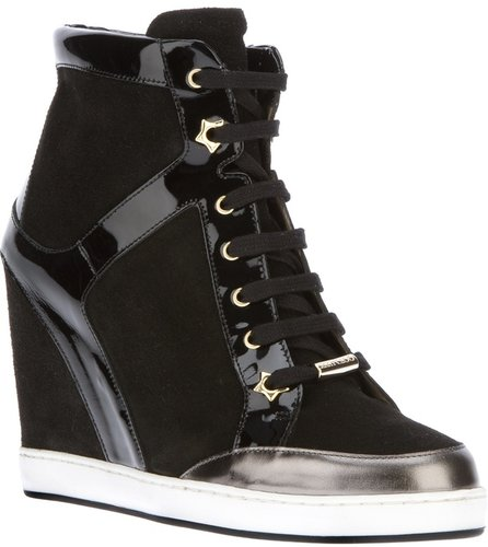 Jimmy Choo 'Panama' wedge sneaker