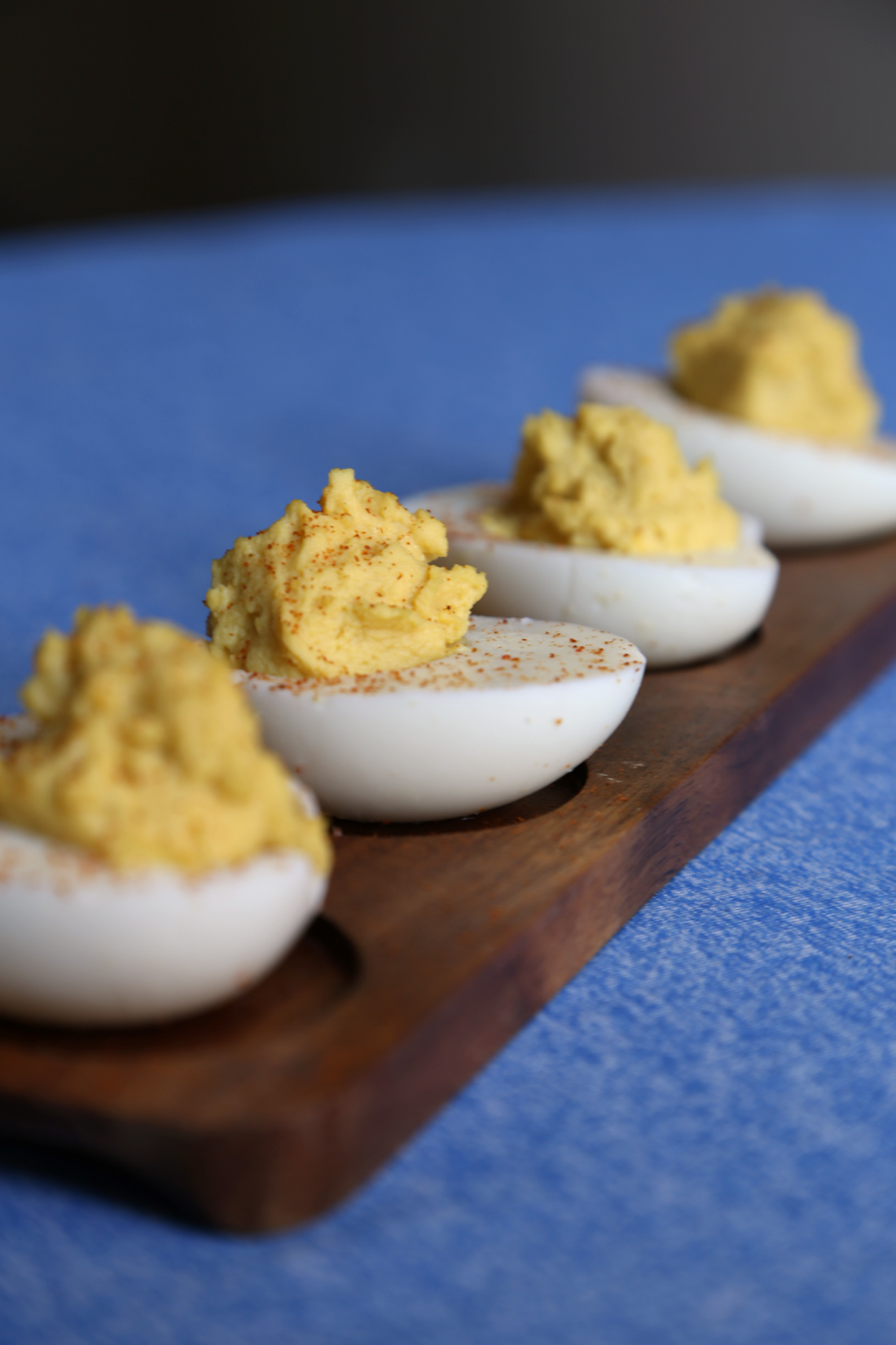 Sweet and Spicy Deviled Eggs