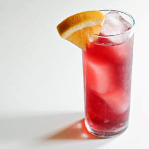 Lillet Rouge and Ginger Cocktail