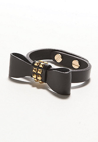 Lucca Couture Bow Bracelet