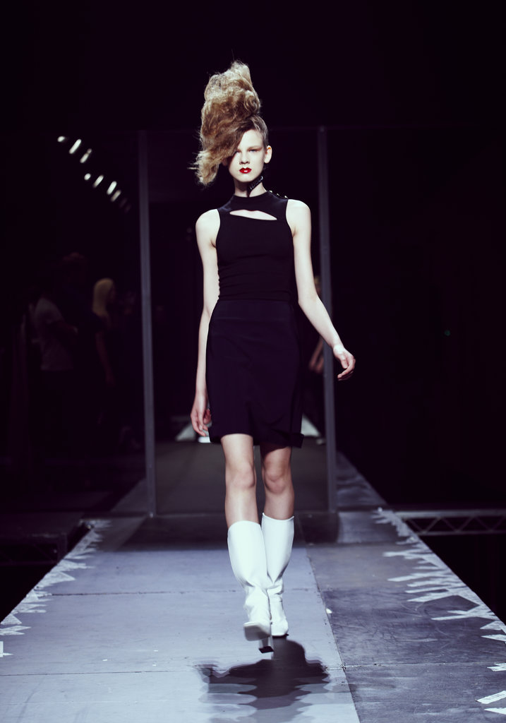A look from the JW Anderson for Versus collection. Photo cour