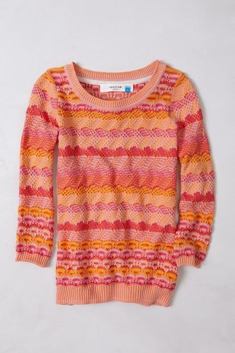 Scallop Stitch Pullover