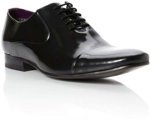 Ted Baker Epipheny toe cap hi-shine oxford shoes