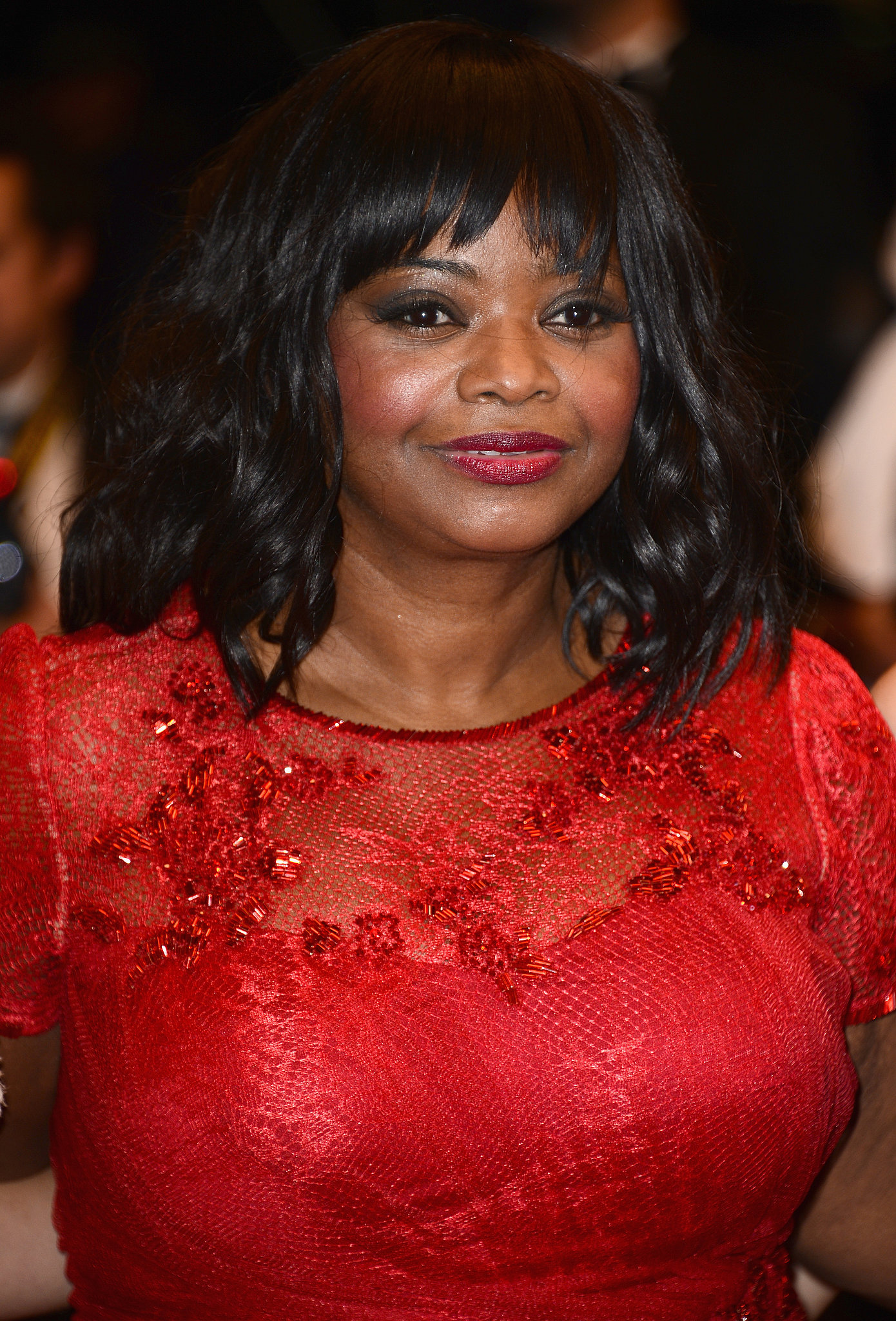At The Fruitvale Station Premiere Octavia Spencer Styled