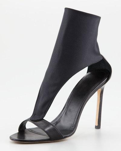 Manolo Blahnik Ardo Elastic Sock Sandal