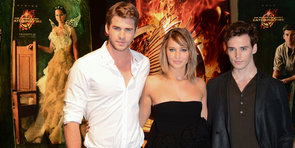 Jennifer Lawrence and Liam Hemsworth Bring Catching Fire to Rainy Cannes