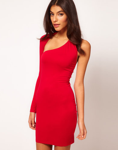 ASOS Body-Conscious Dress with One Sleeve