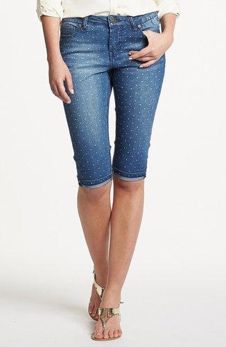 Liverpool Jeans Company 'Julia' Short Stretch Capri Jeans