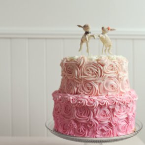 Girlie Wedding Cakes
