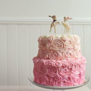 Girlie Wedding Cakes