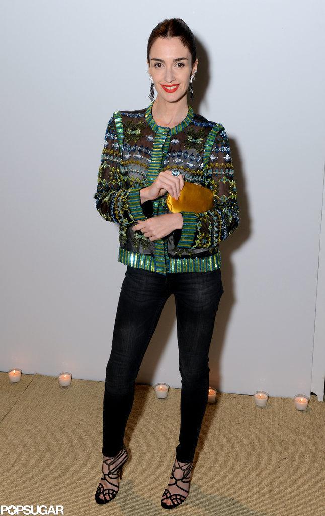 Paz Vega attended the star-studded bash.