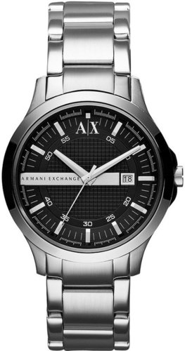 A|X Armani Exchange Watch, Men's Stainless Steel Bracelet 40mm AX2124