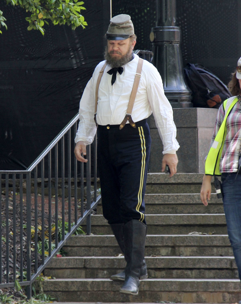 Frequent Will Ferrell collaborator John C. Reilly dressed in a Civil War uniform for a possible flashback.