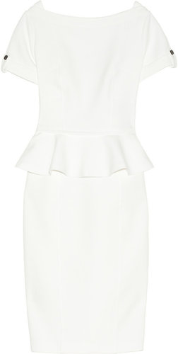 Burberry London Woven peplum dress
