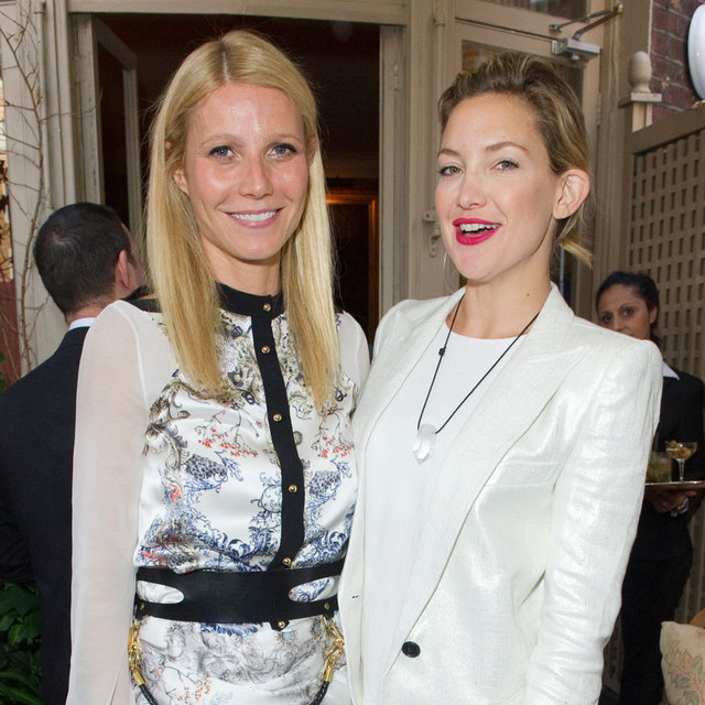 Gwyneth Paltrow and Chris Martin at Goop Summer Party