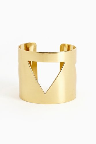 Pyramid Cutout Cuff