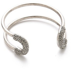 Giles & brother Encrusted Skinny Cortina Cuff